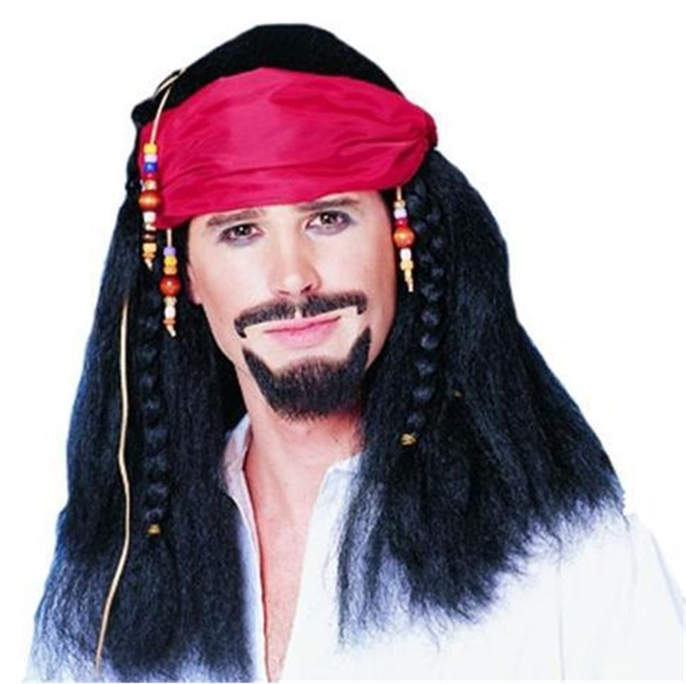Picture of Buccaneer Pirate Adult Wig
