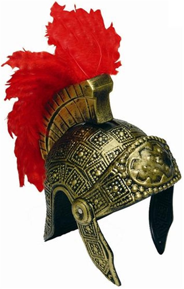Picture of Gold Roman Adult Helmet