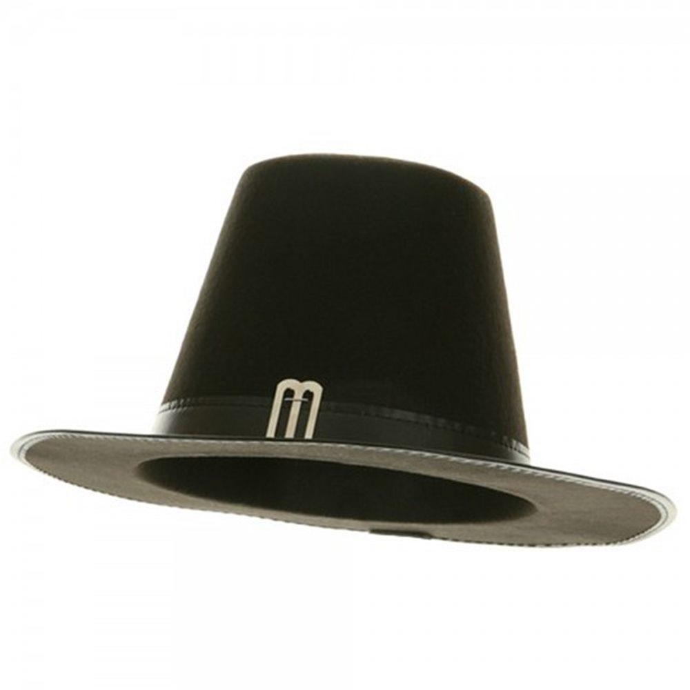 Picture of Black Pilgrim Adult Hat