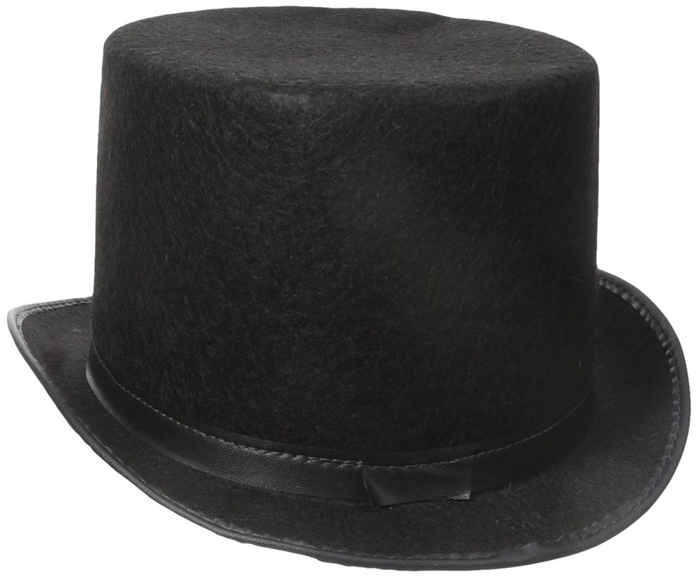 Picture of Black Adult Top Hat