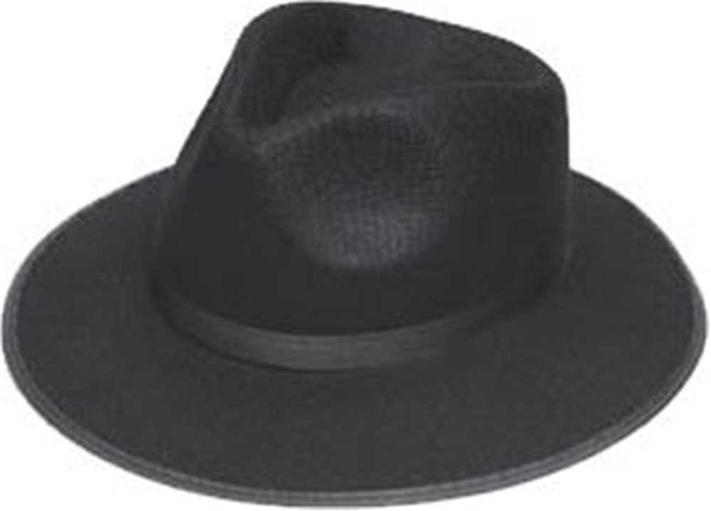 Picture of Black Ganster Adult Hat