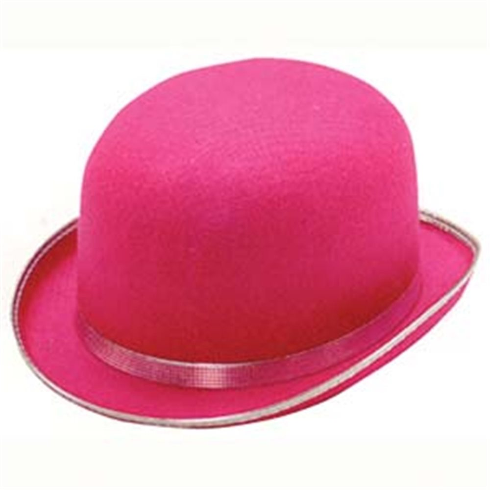Picture of Pink Derby Adult Hat