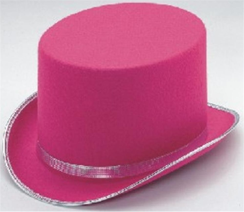 Picture of Pink Top Hat Adult