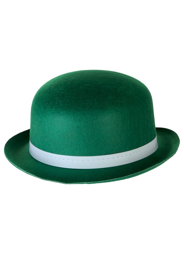 Picture of Green Derby Adult Hat