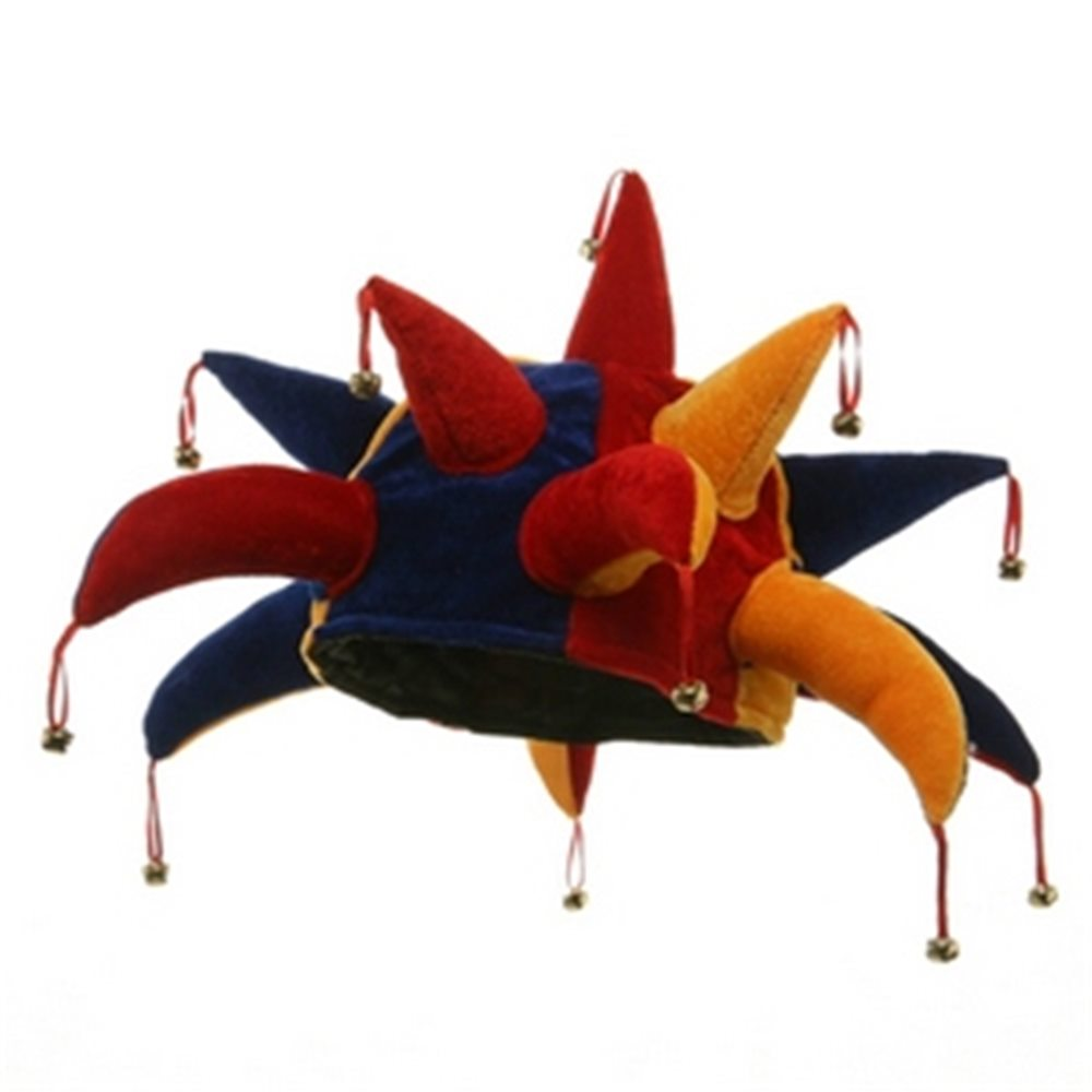 Picture of Jester with Point Bells Adult Hat