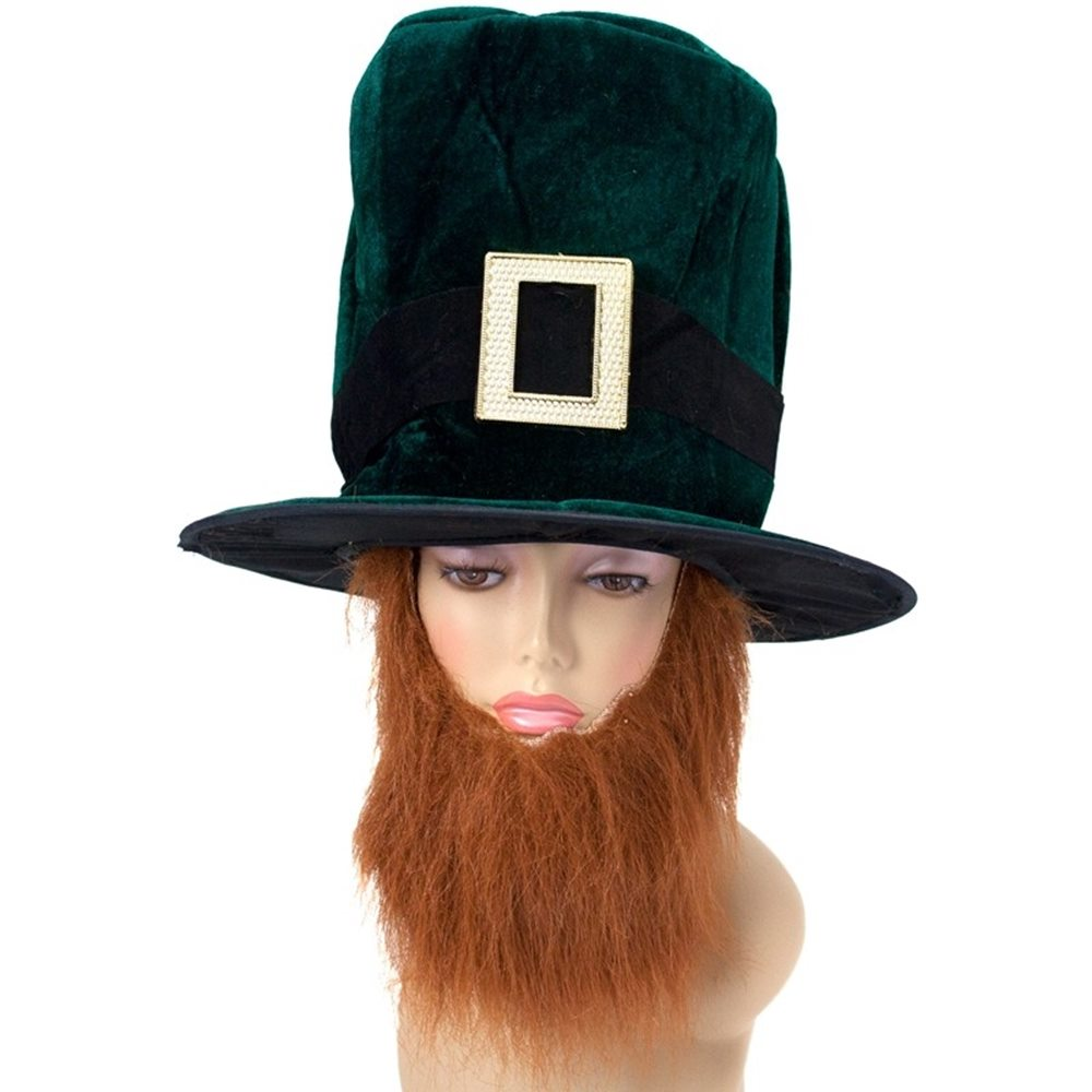 Picture of Leprechaun Adult Hat with Beard
