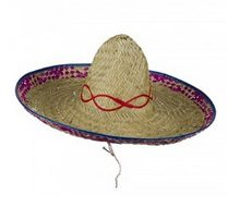 Picture of Sombrero Straw Adult Hat