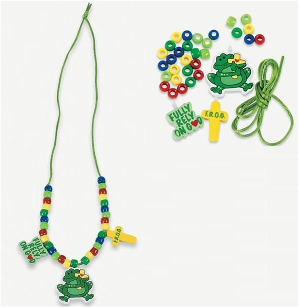Picture of Frog Necklace Bead Kit