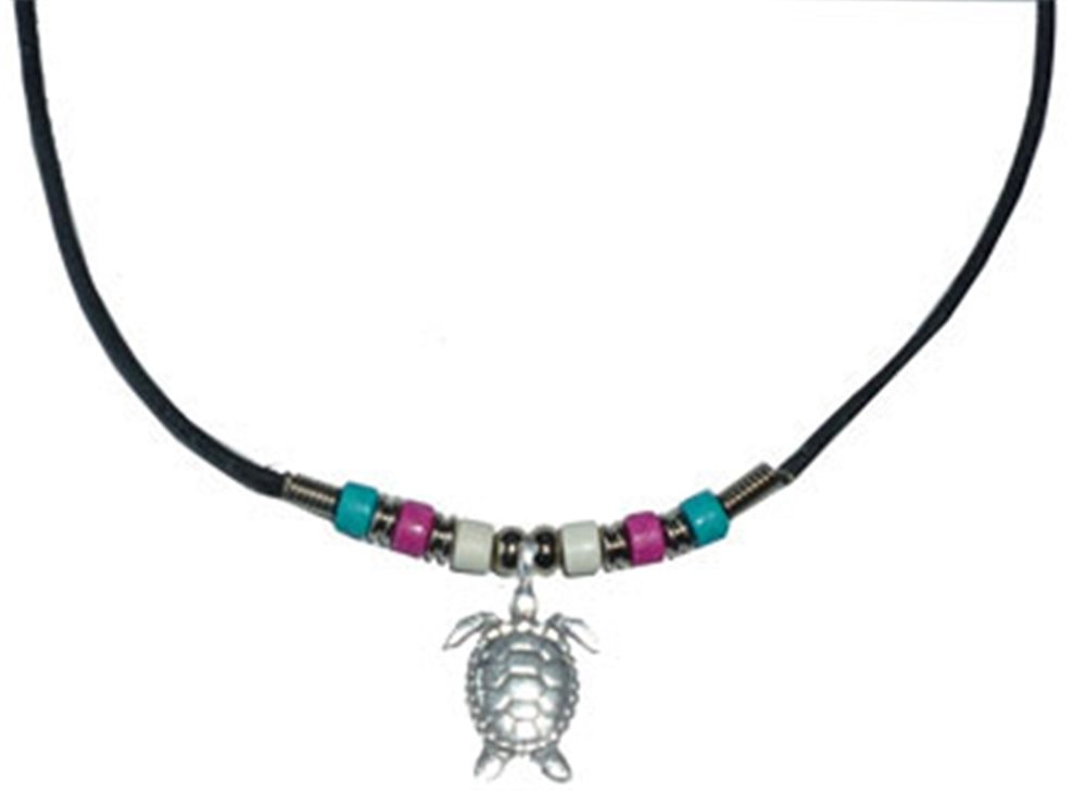 Picture of Turtle Beaded Necklace