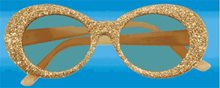 Picture of Gold Glitter Glasses