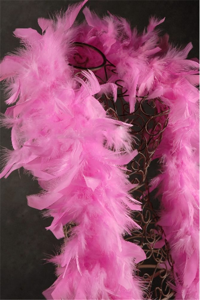 Picture of Candy Pink Feather Boa