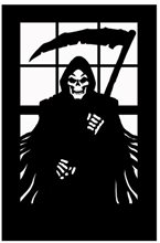 Picture of Scary Reaper Silhouette
