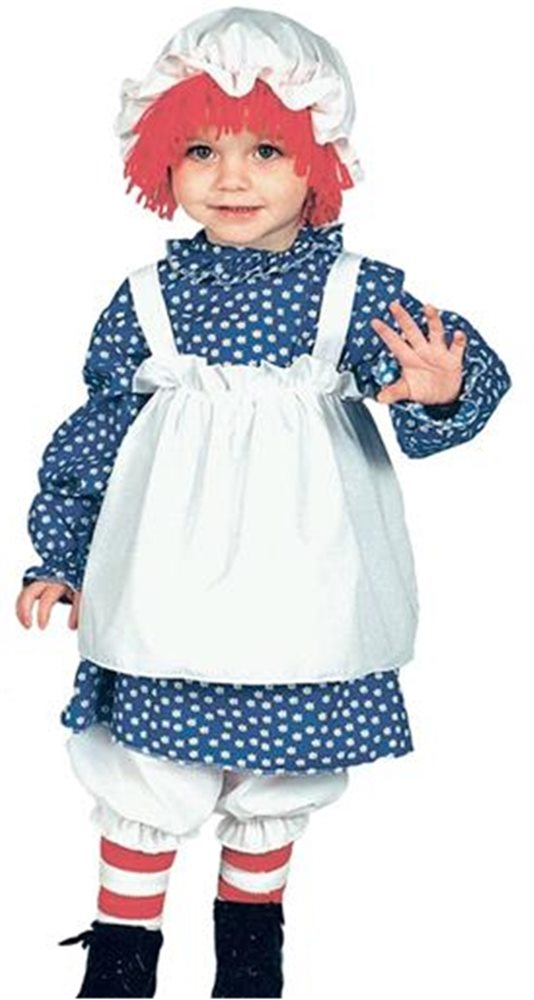 Picture of Raggedy Ann Toddler Costume