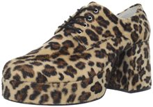 Picture of Leopard Disco Platform Adult Shoes