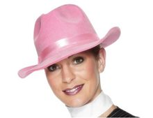 Picture of Deluxe Pink Gangster Adult Hat