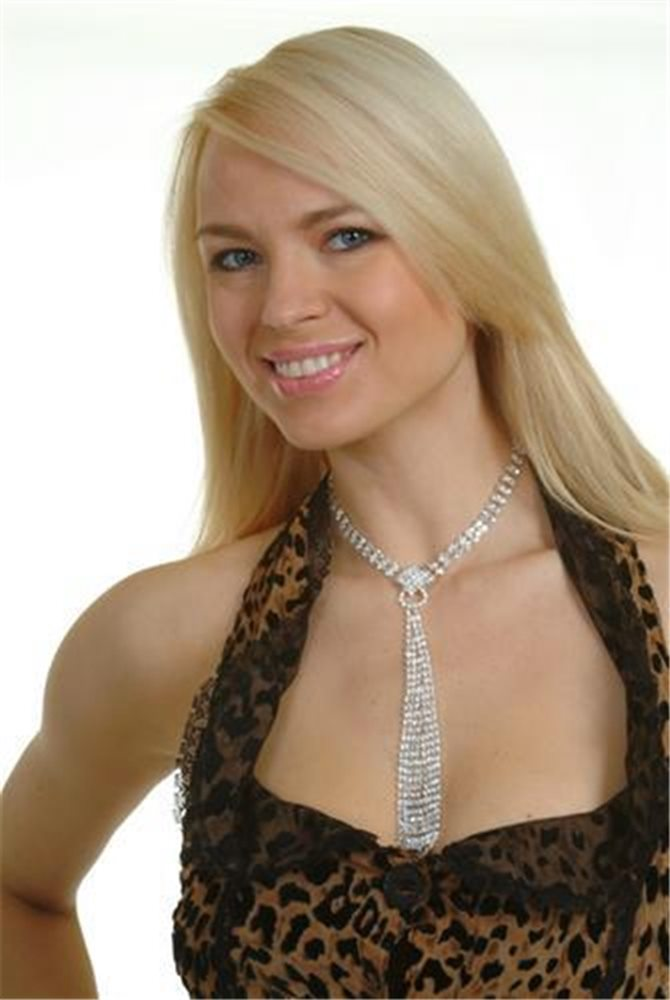 Picture of Crystal Tie Choker Necklace