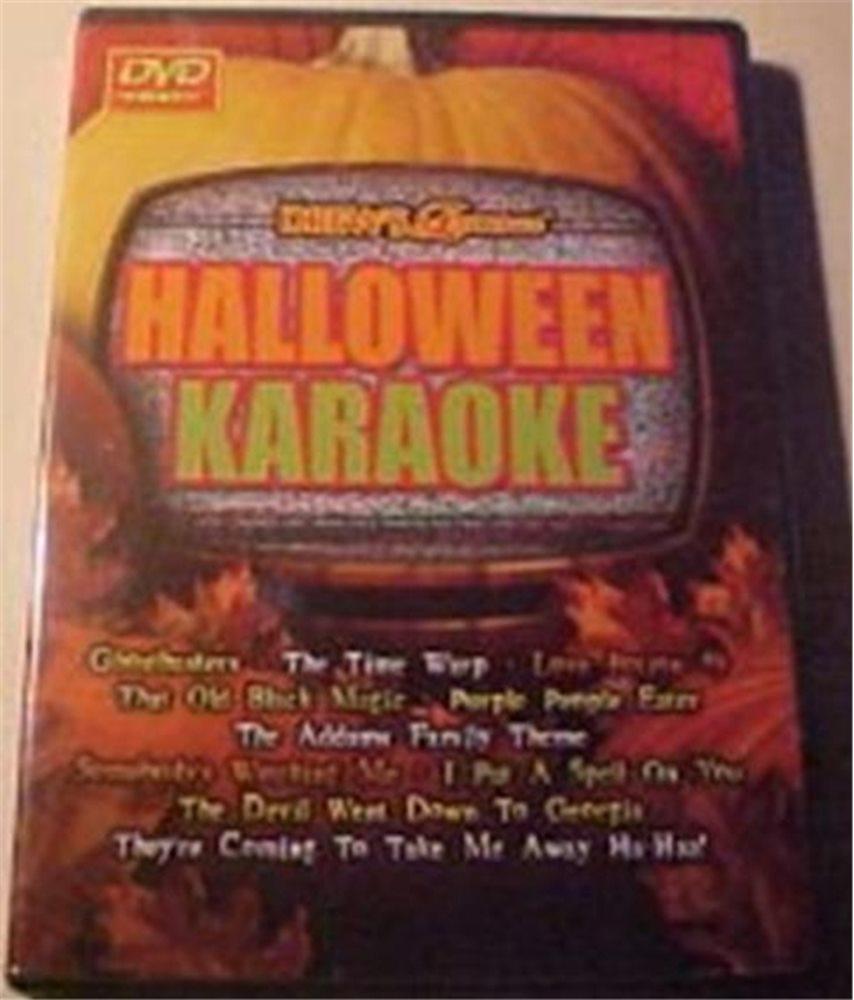 Picture of Halloween Karaoke DVD