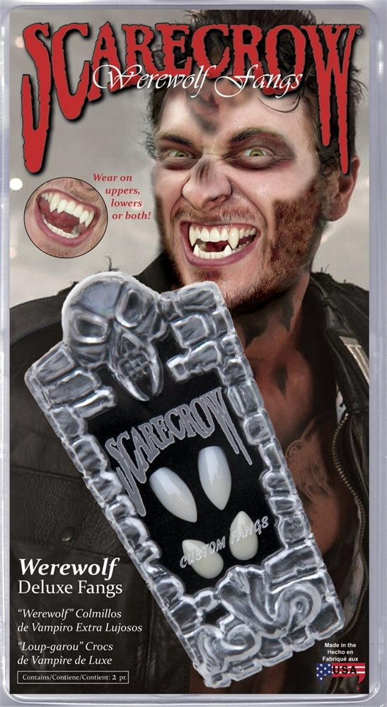 Picture of Werewolf Deluxe Fangs