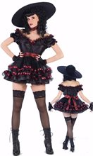 Picture of Deluxe Scarlet O Horror Adult Costume