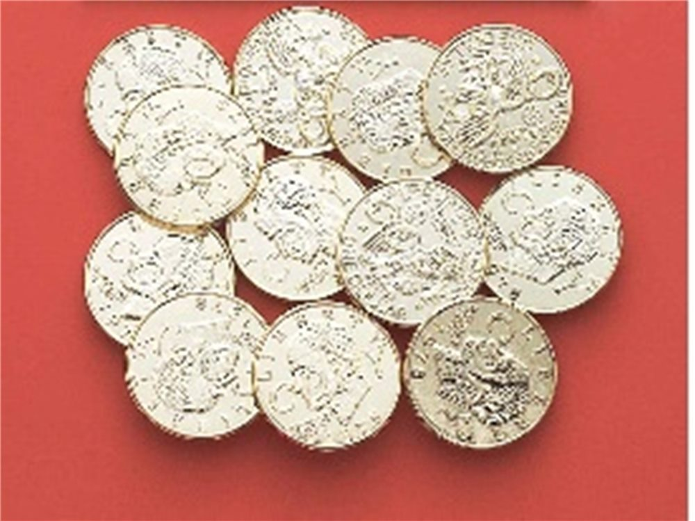 Picture of Pirate Gold Coins
