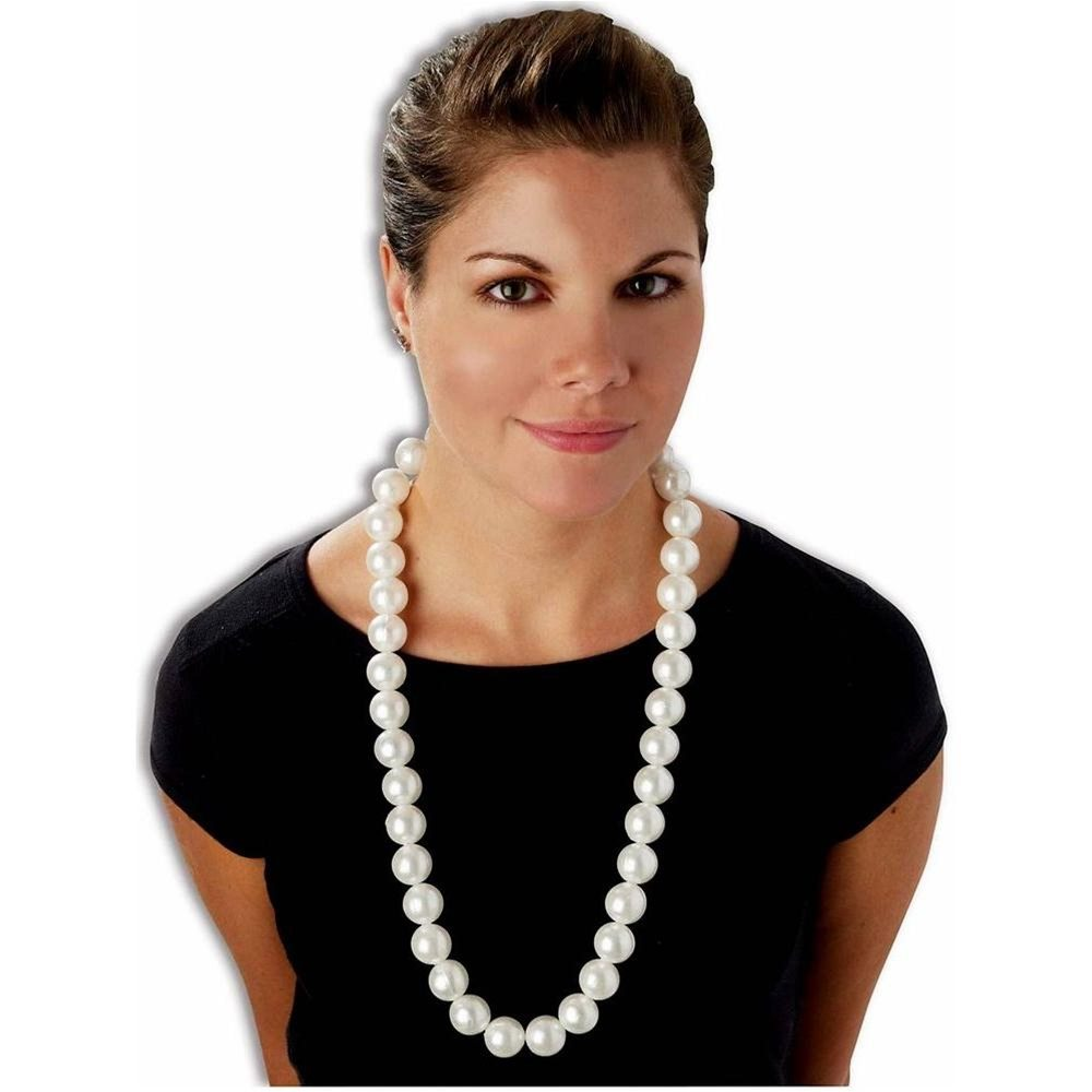 Picture of Jumbo Faux Pearl Necklace