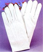 Picture of Glove White With Snaps