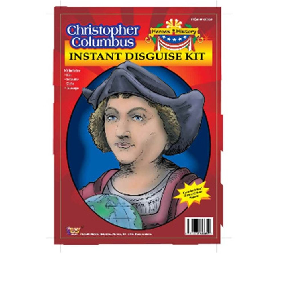 Picture of Christopher Columbus Disguise Kit