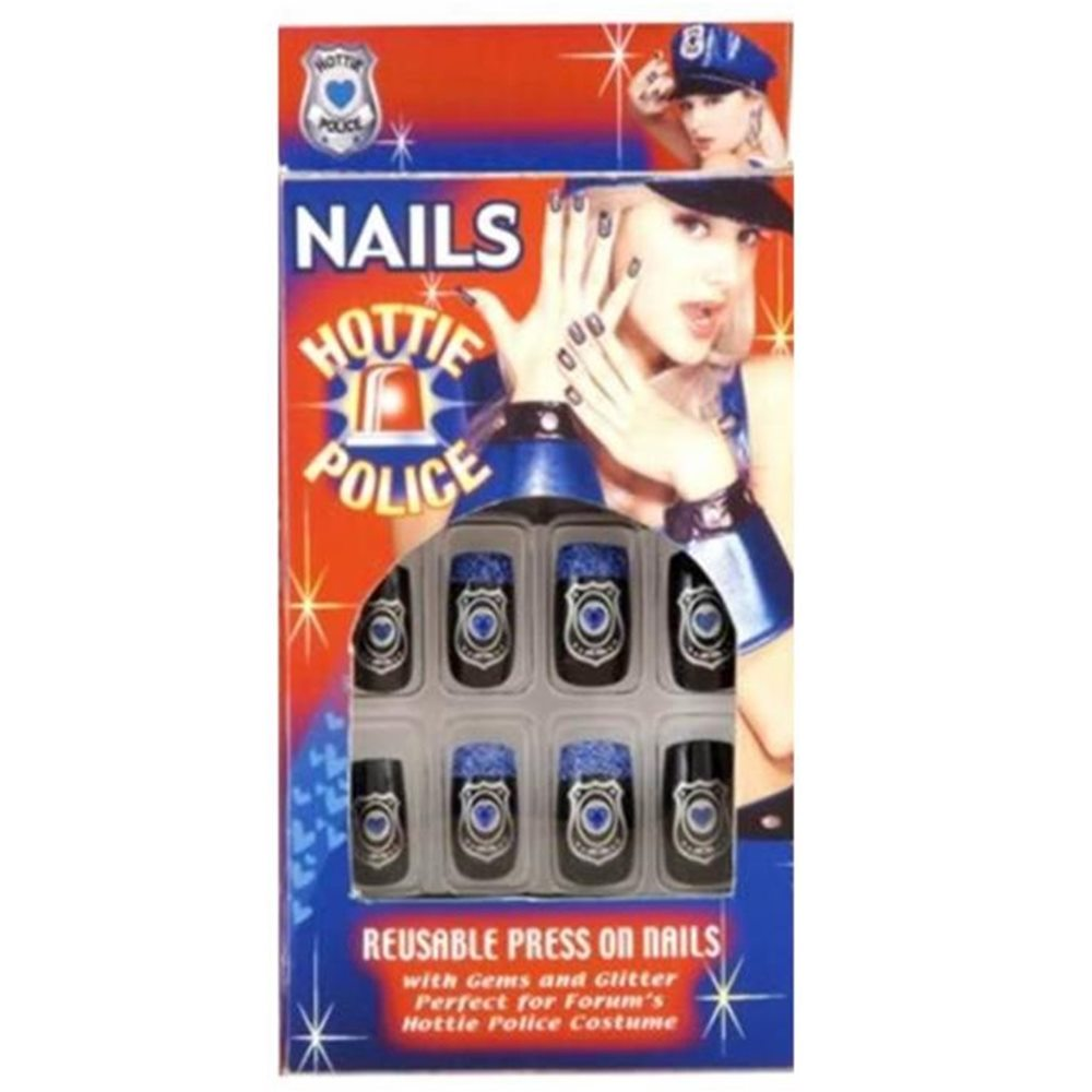 Picture of Hottie Police Nails