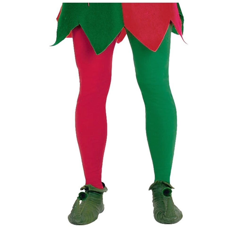 Picture of Red and Green Tights