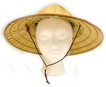 Picture of Chinese Coolie Straw Hat