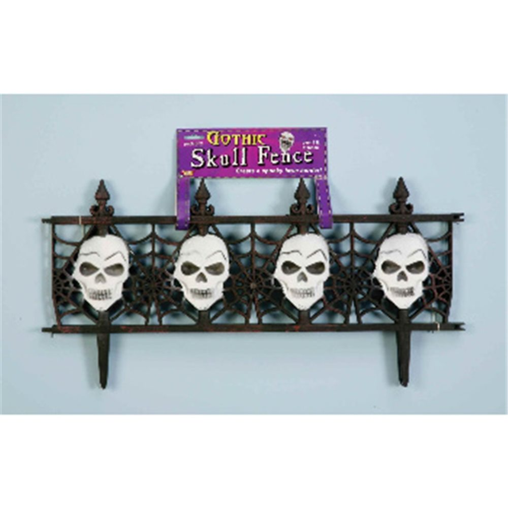 Picture of Gothic Skull Fence