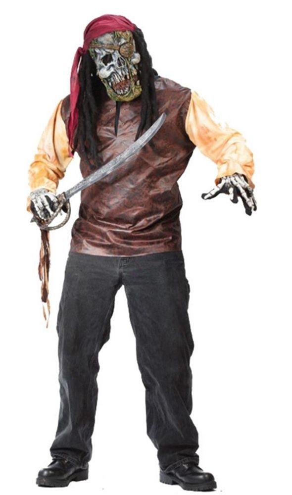 Picture of Pirate Skeleton Adult Costume