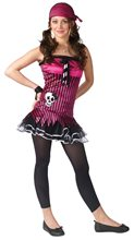 Picture of Rockin Skull Pirate Teen Costume
