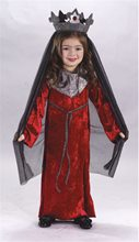 Picture of Medieval Queen Toddler Kids Costume