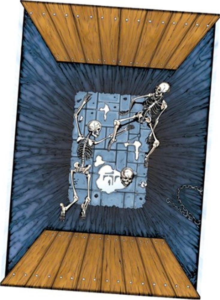 Picture of Spooky Scenes Floor Mat