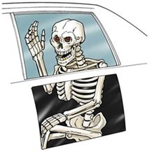 Picture of Back Seat Skeleton Ghoul