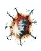 Picture of Pinhead Spooky Scenes Window Cling