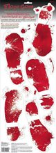 Picture of Bloody Footprints Floor Gore
