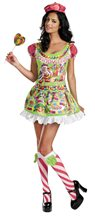Picture of Candyland Deluxe Adult Womens Costume