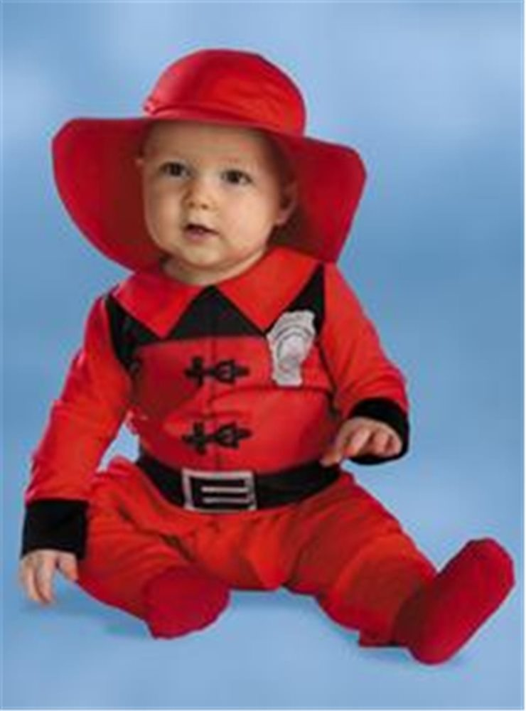 Picture of Little Fireman Infant Costume