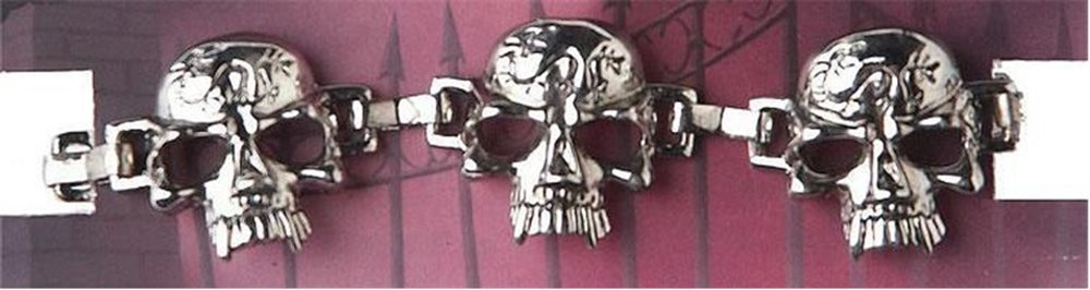 Picture of Deluxe Vampire Skull Bracelet
