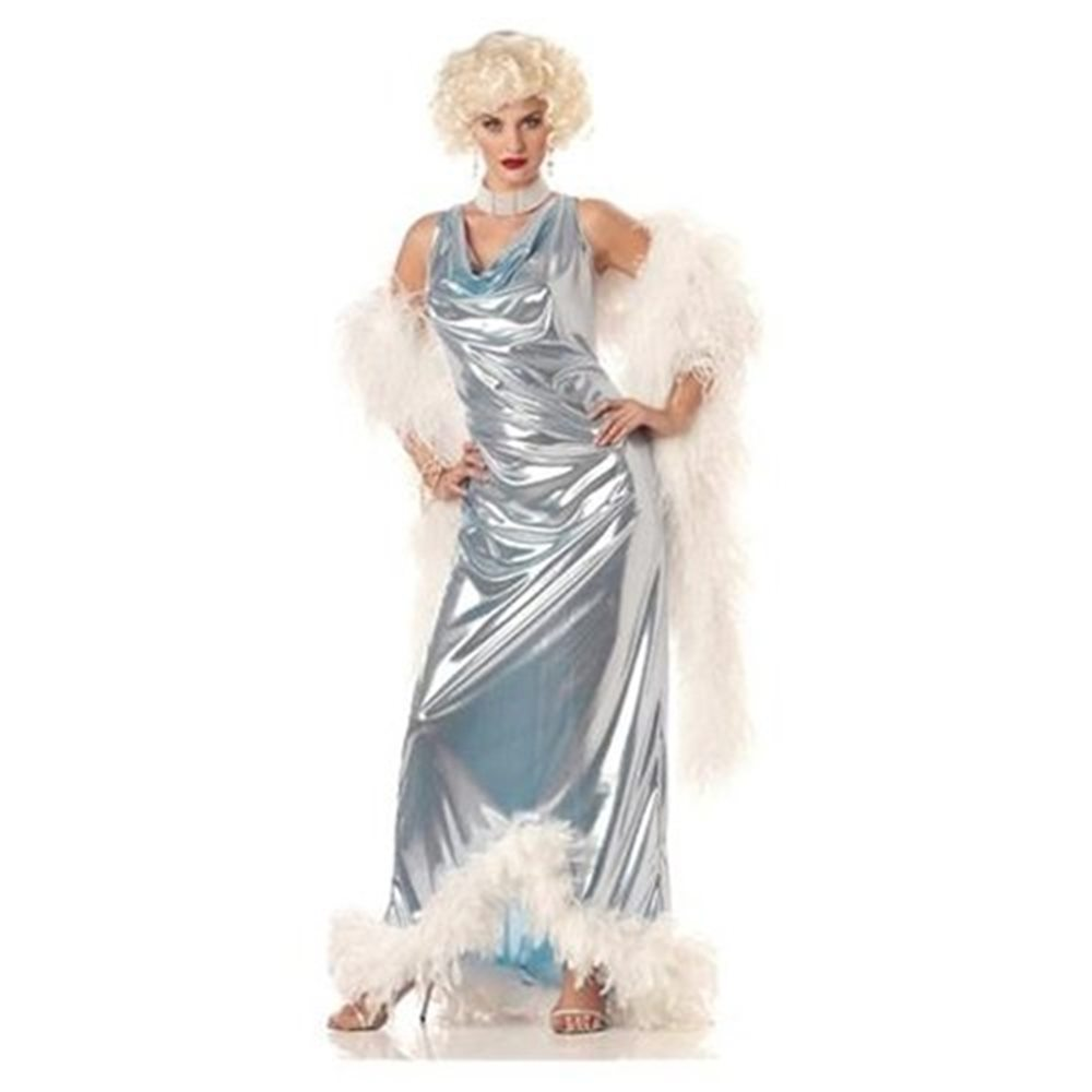 Picture of Deluxe Silver Screen Goddess Women Costume
