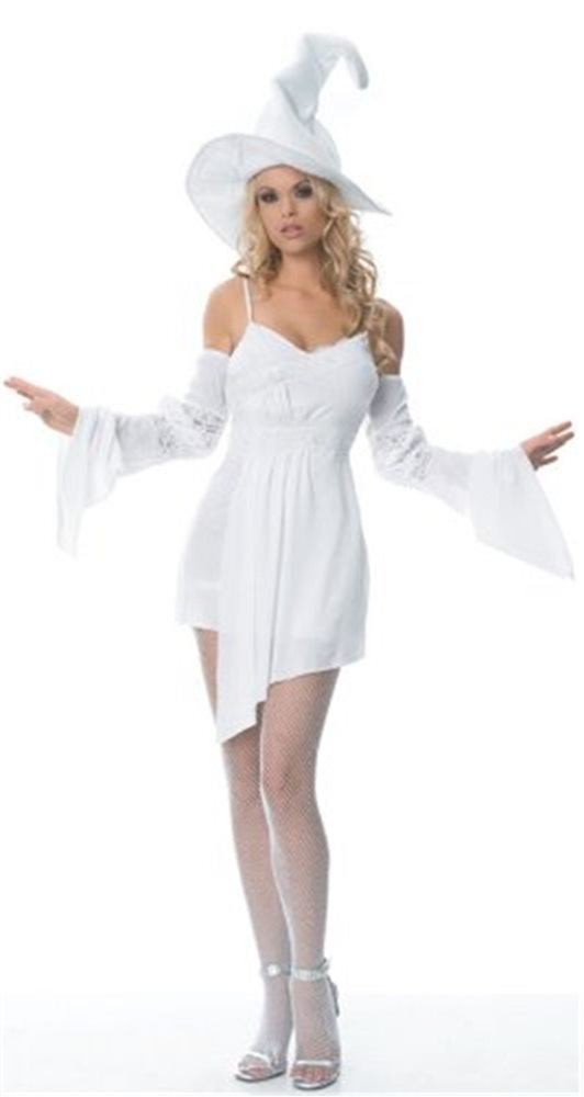 Picture of Enchanted Witch White Women Costume