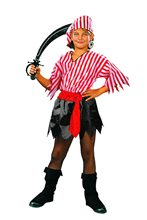 Picture of Pirate Girl Child Costume