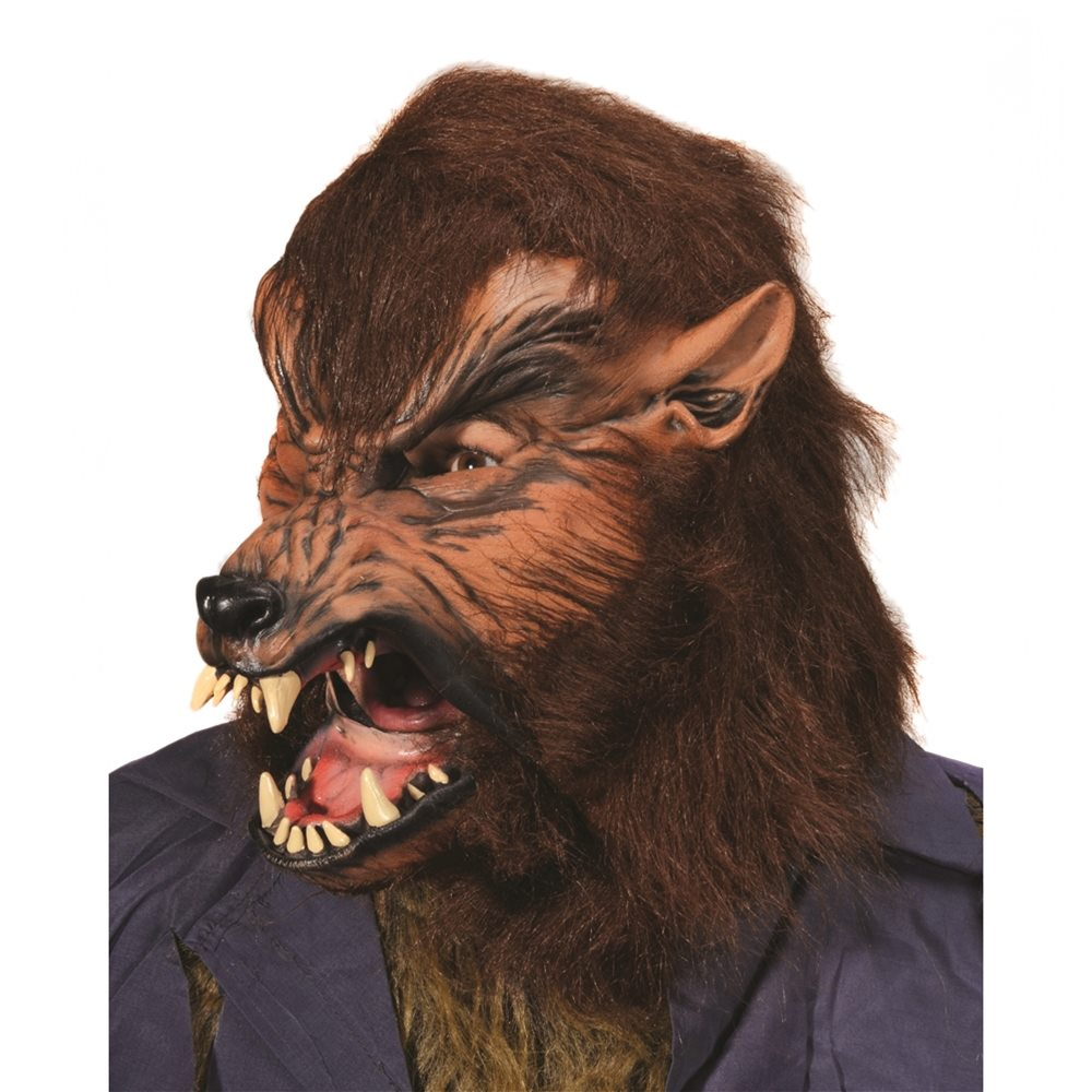Picture of Howl-O-Ween Wolf Mask