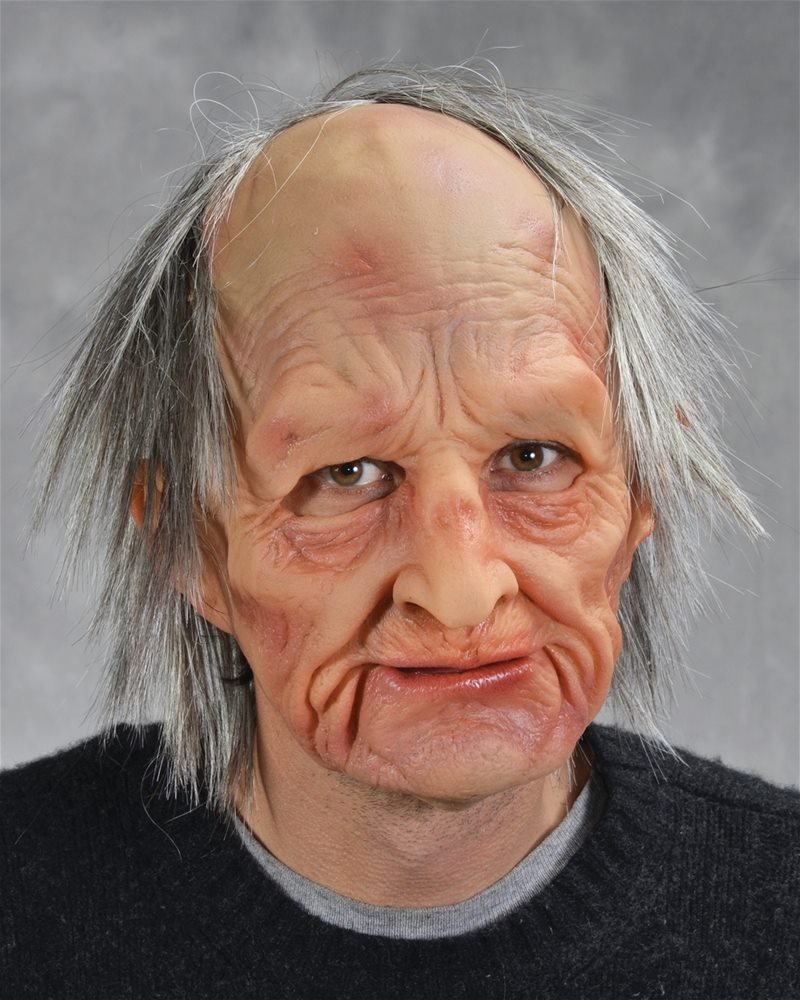 Picture of Supersoft Old Man Adult Mask