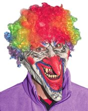 Picture of Dastardly Clown Adult Mask