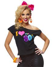 Picture of I Love The 80s Adult Womens T-Shirt