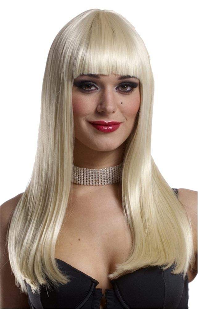 Picture of Blonde Mademoiselle Adult Wig
