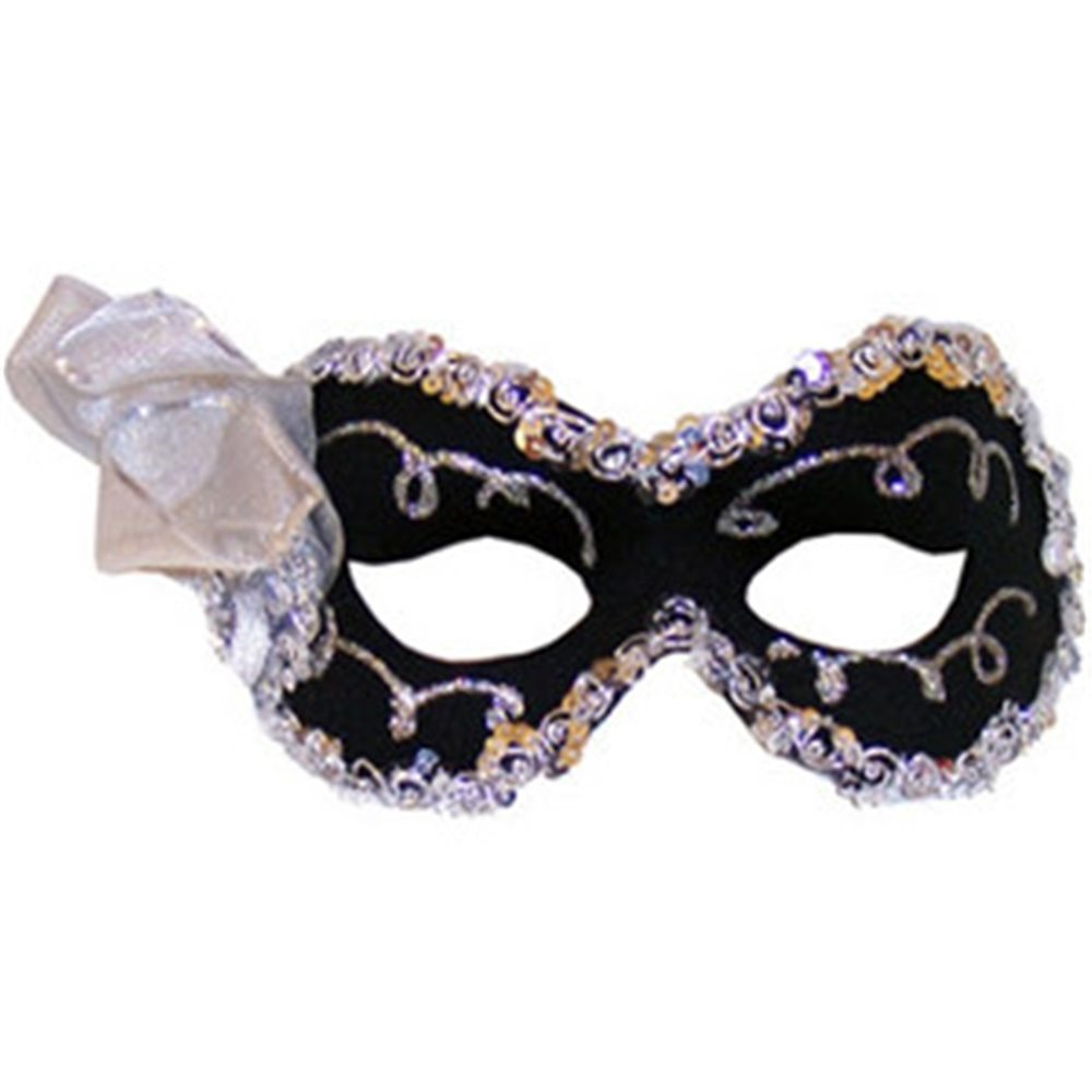 Picture of Black Angelina Adult Mask